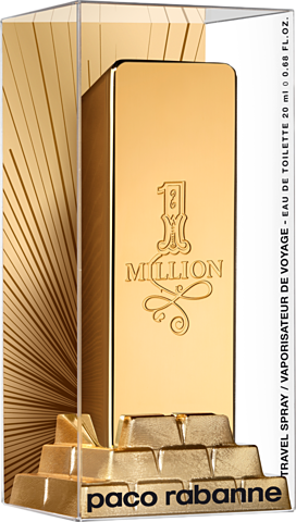 Paco Rabanne 1 Million EDT 20 ml travel ed.